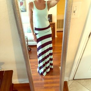 Gap Maxi Skirt (NWOT) and Tank (NWT) Sz Sm